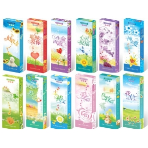Bookmark (each box, set of 10, 12 designs)